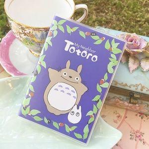 Coming soon! Dark blue Totoro notebook!